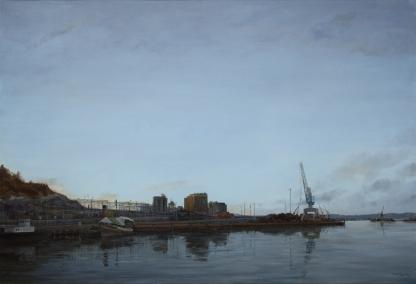 13 Oslo Havn I olje 95x140