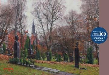 Kirkegården-pink